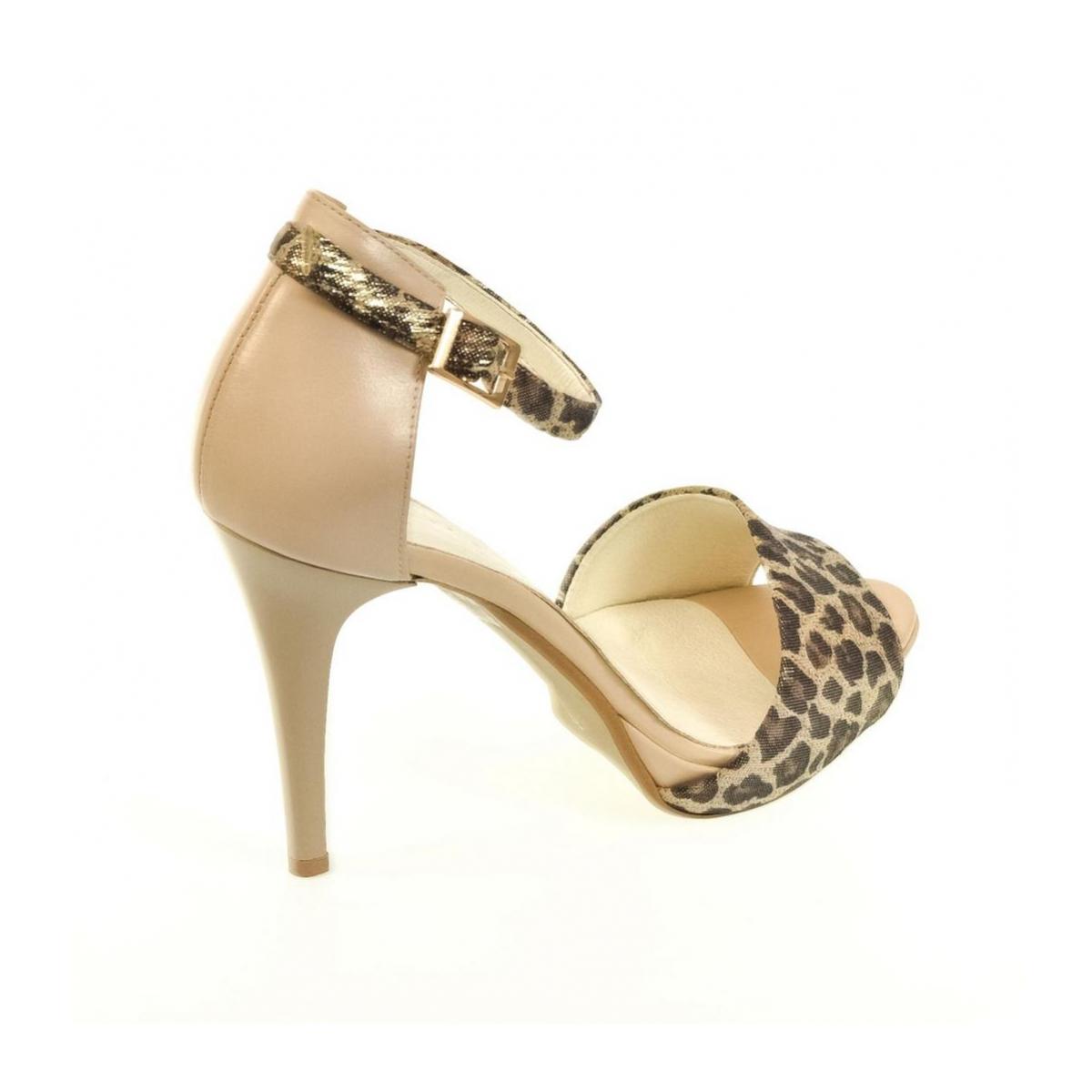 b84b85a4c3 Dámske hnedé sandále MIRELLI - 4