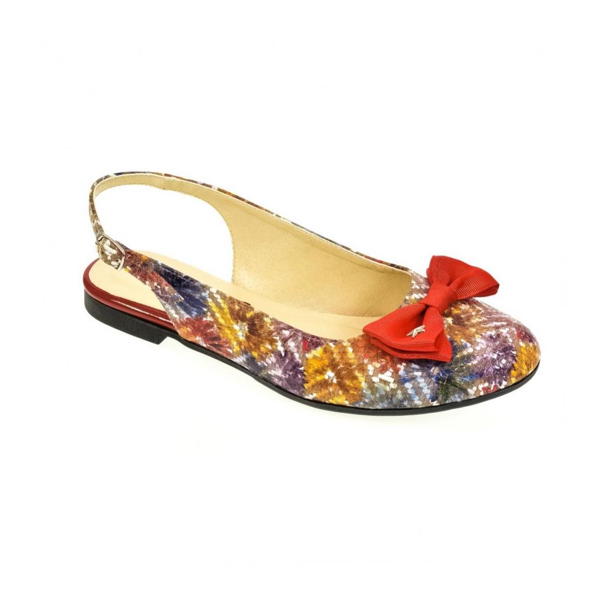 447a87343466 Dámske farebné sandále SIARA - 4