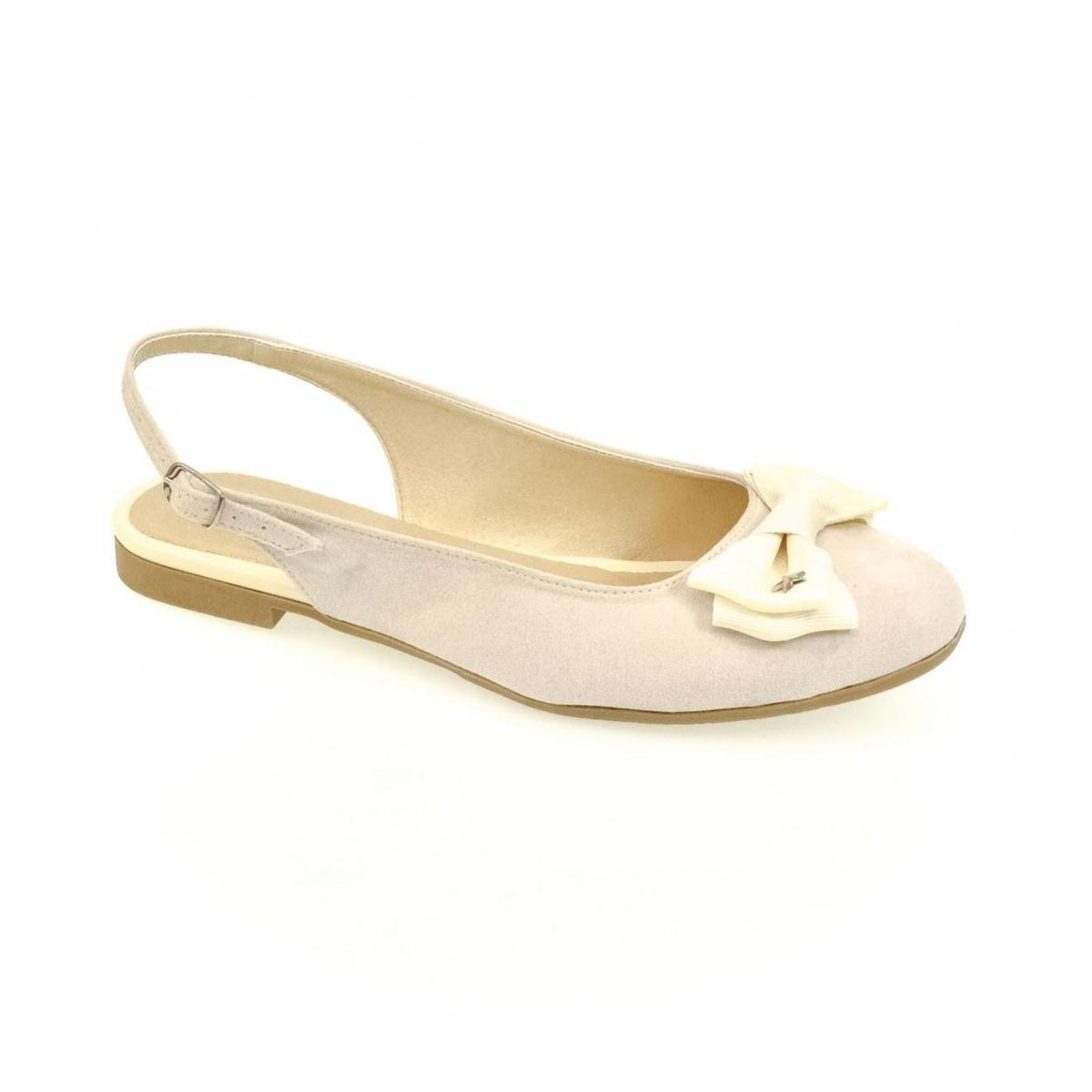 93e974d9f63e Dámske krémové sandále SIARA - 4