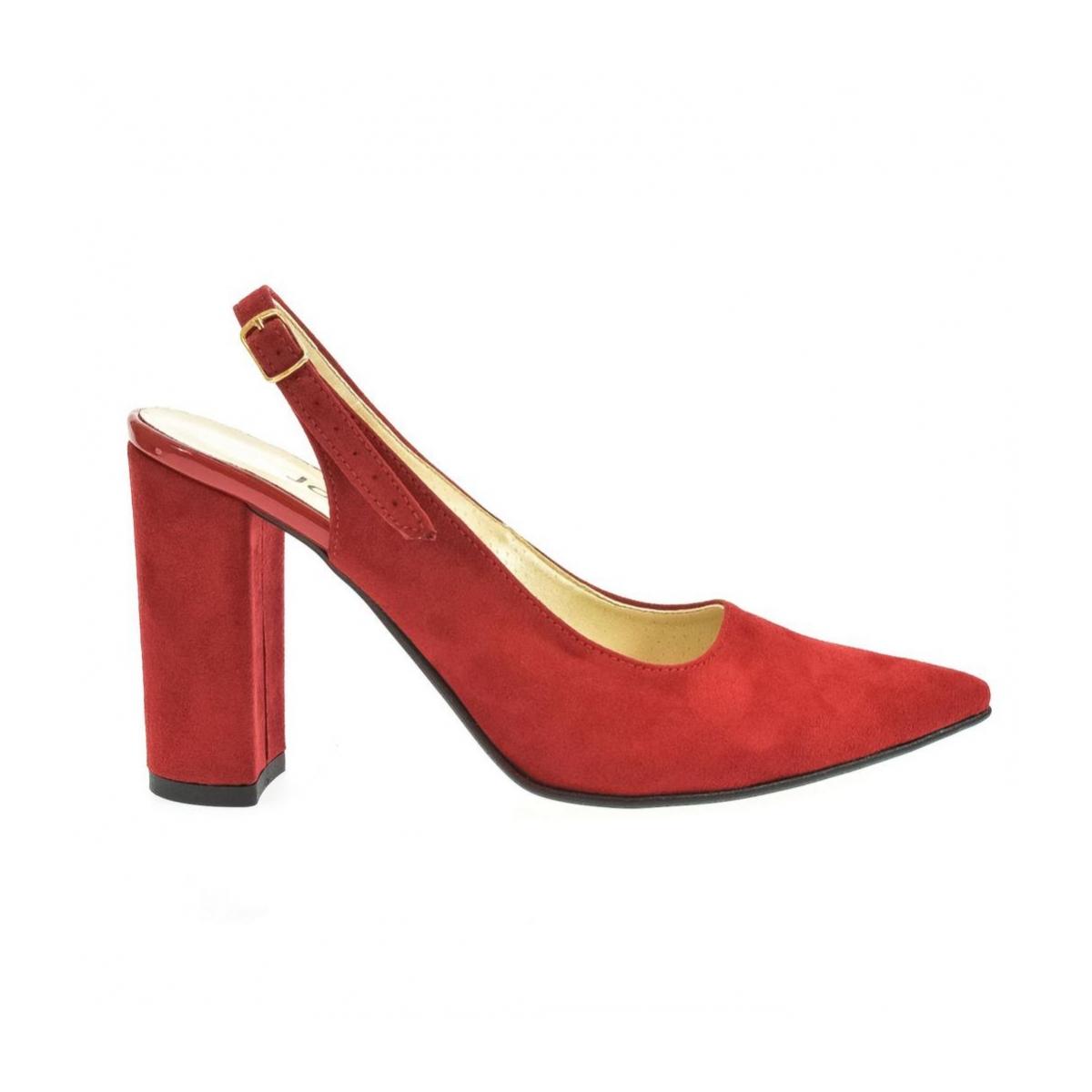 856cf72e44 Dámske červené sandále ELISSA - 7