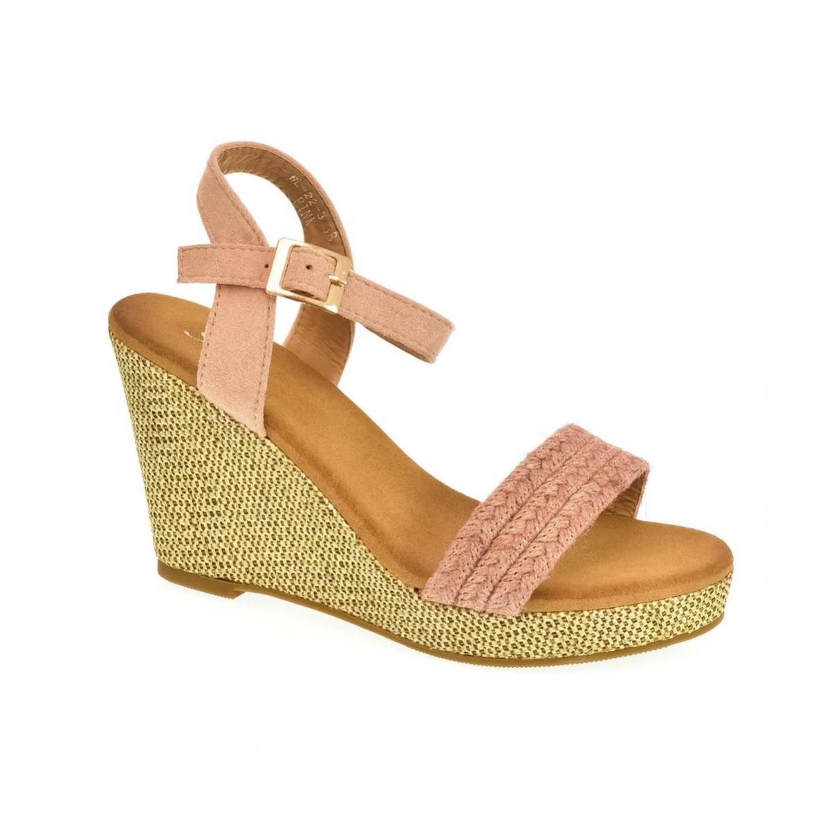 0067add3c Dámske ružové sandále BERIA   Johnc.sk