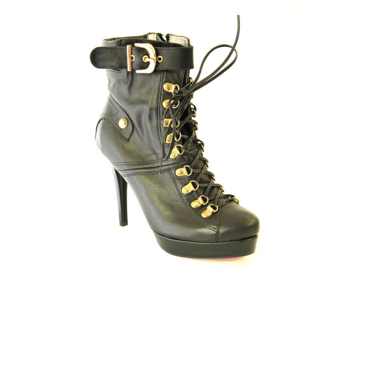 CALISTA 017 CIERNE-Kotníkové topánky čiernej farby TK - 2 7248f1da644