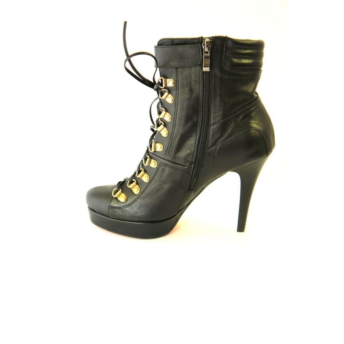 CALISTA 017 CIERNE-Kotníkové topánky čiernej farby TK - 5 8c3c11b3b40