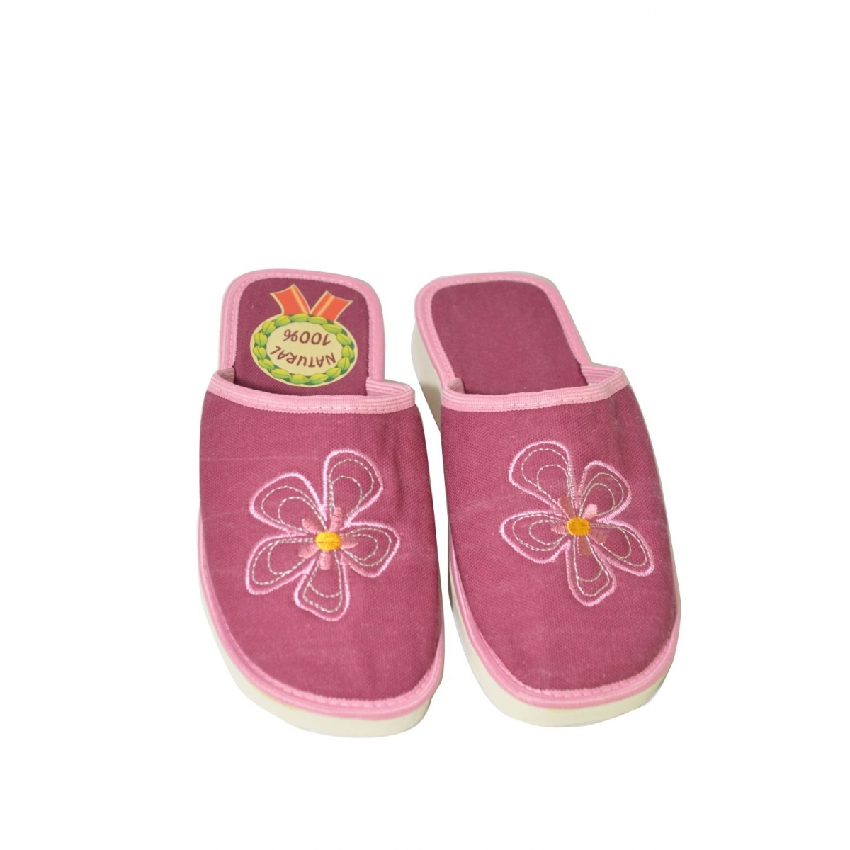 1f922111da8c Dámske ružové papuče FAUSTINA - 2