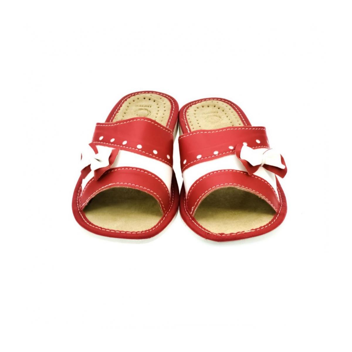 e6bee3a3820b Dámske kožené papuče MARIANA - 2