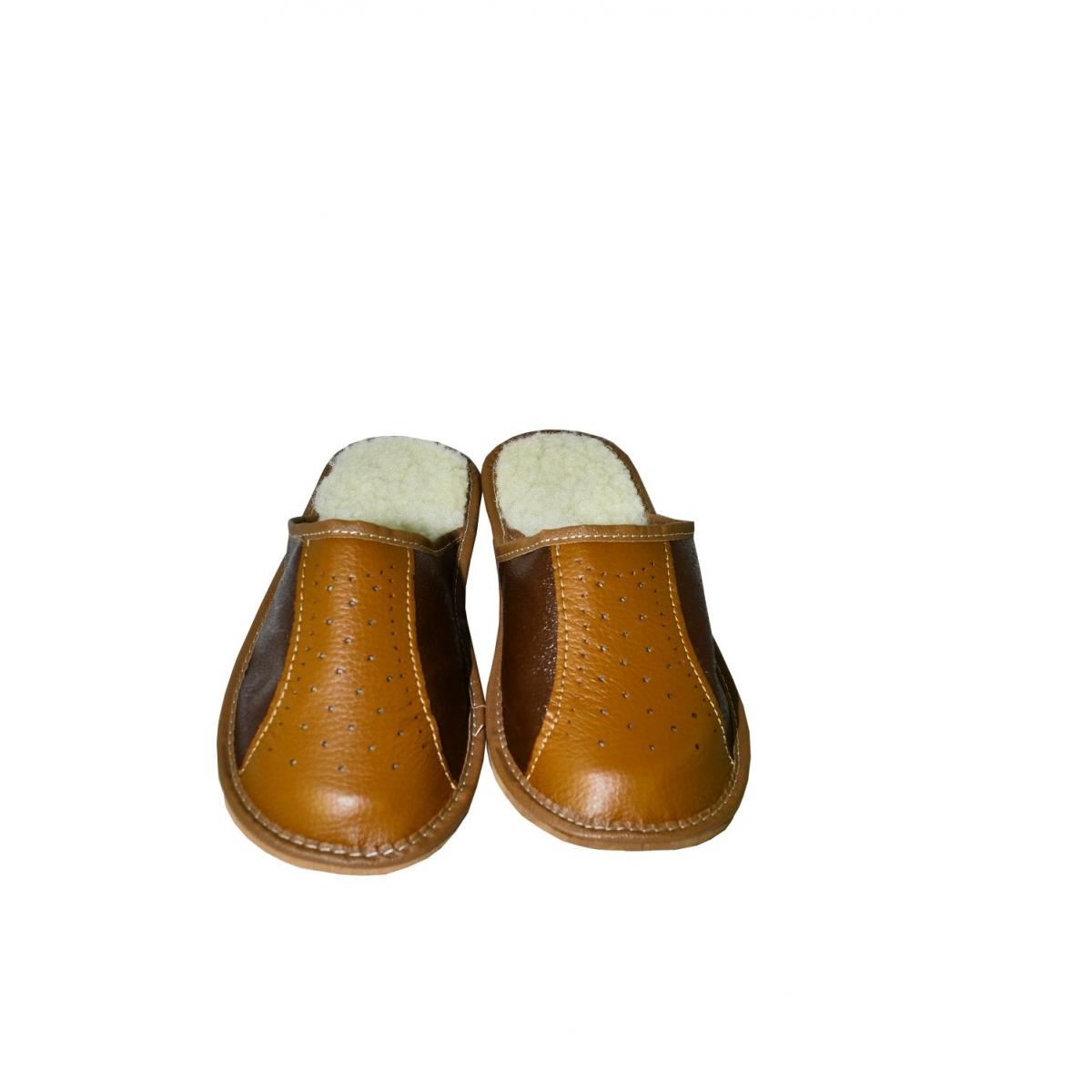 3535b6417 Pánske hnedé zimné papuče OLIVANDER | Johnc.sk