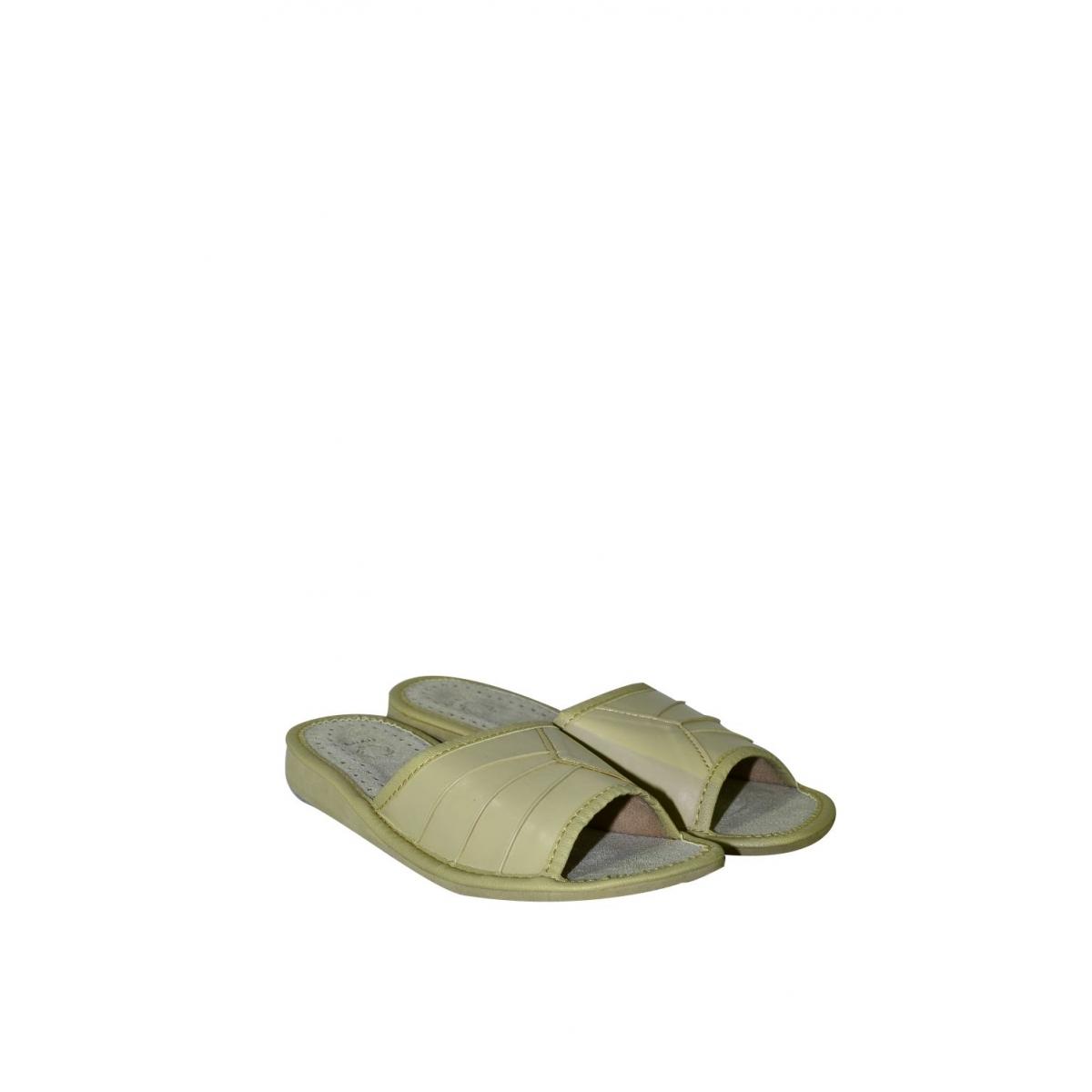 6695876fa2a70 Dámske béžové letné papuče CLAUDIE | Johnc.sk