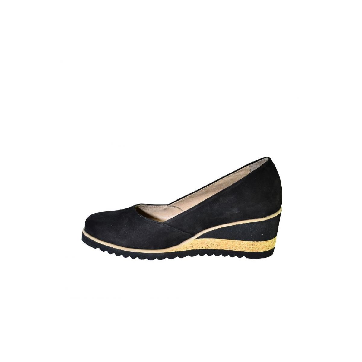 d3008cdc91 Kožené čierne topánky na vysokom opätku Karino - 7