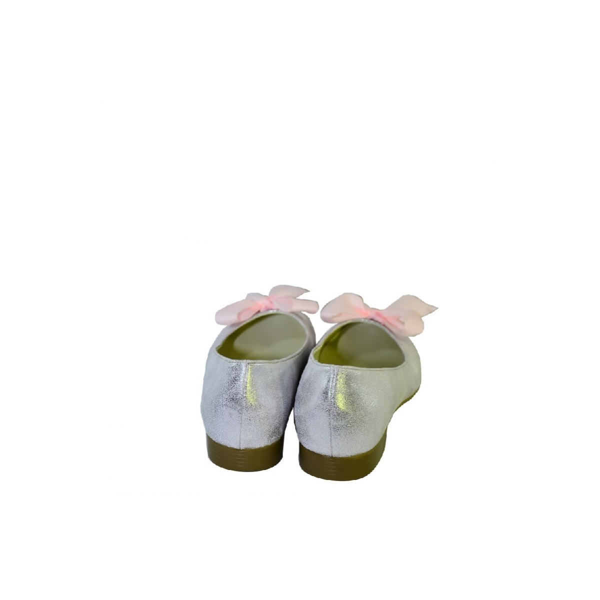 63981feb8145 Ružové baleríny na nízkom opätku John C - 5