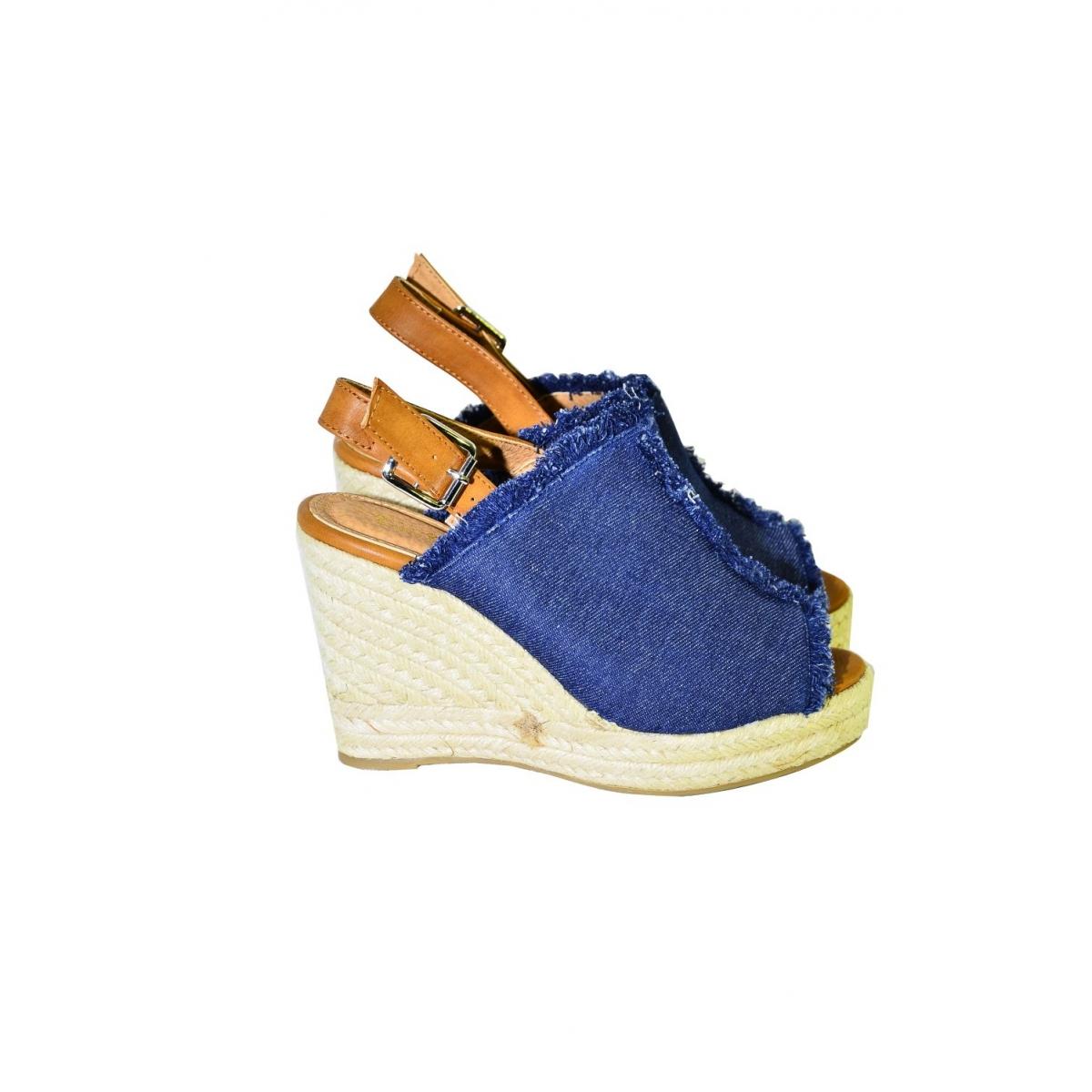 Dámske tmavomodré sandále KATHIN - 3 323b3ab1321