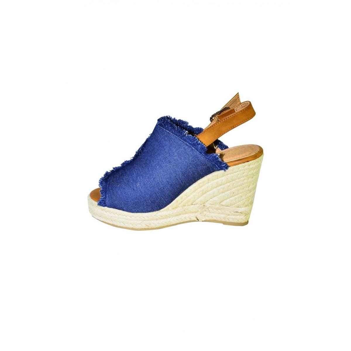 dc64a19543b4 Dámske tmavomodré sandále KATHIN - 6