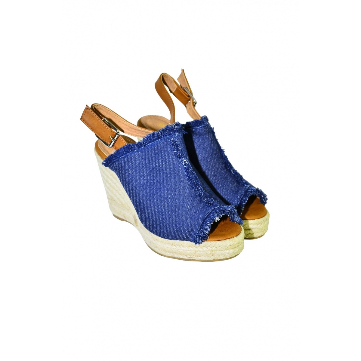 Dámske tmavomodré sandále KATHIN - 2 a06211eac04