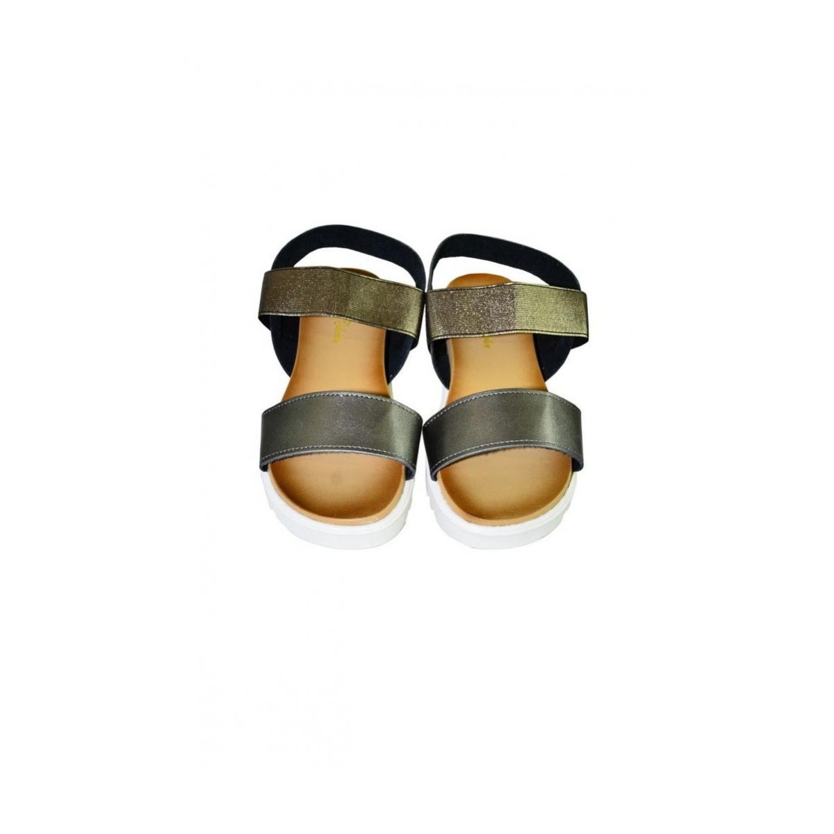 feb1193a925a Bronzové sandále na platforme PARTE - 6