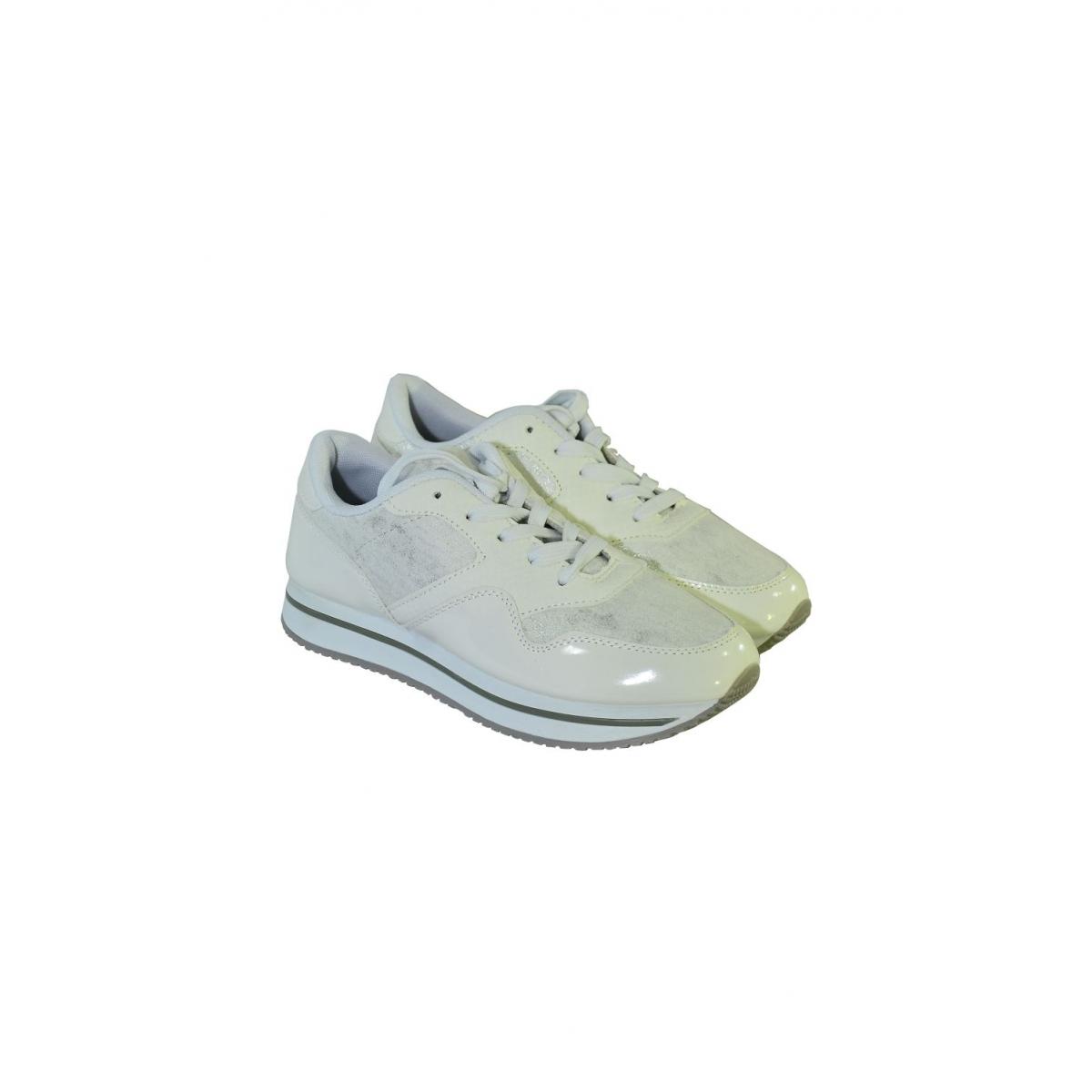 83af60f09c73 Dámske biele tenisky MERCA - 2