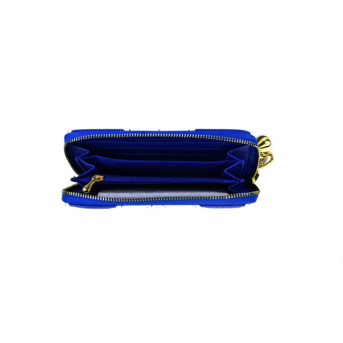 e6550af1391c Dámska modrá peňaženka ILY - 3