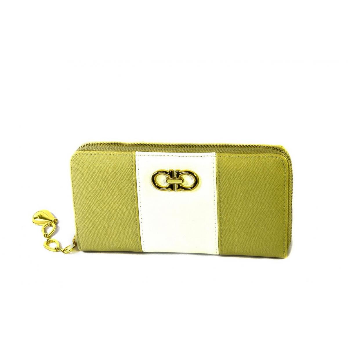 Dámska žlto-biela peňaženka ARIEL - 2 44724ce9f9e