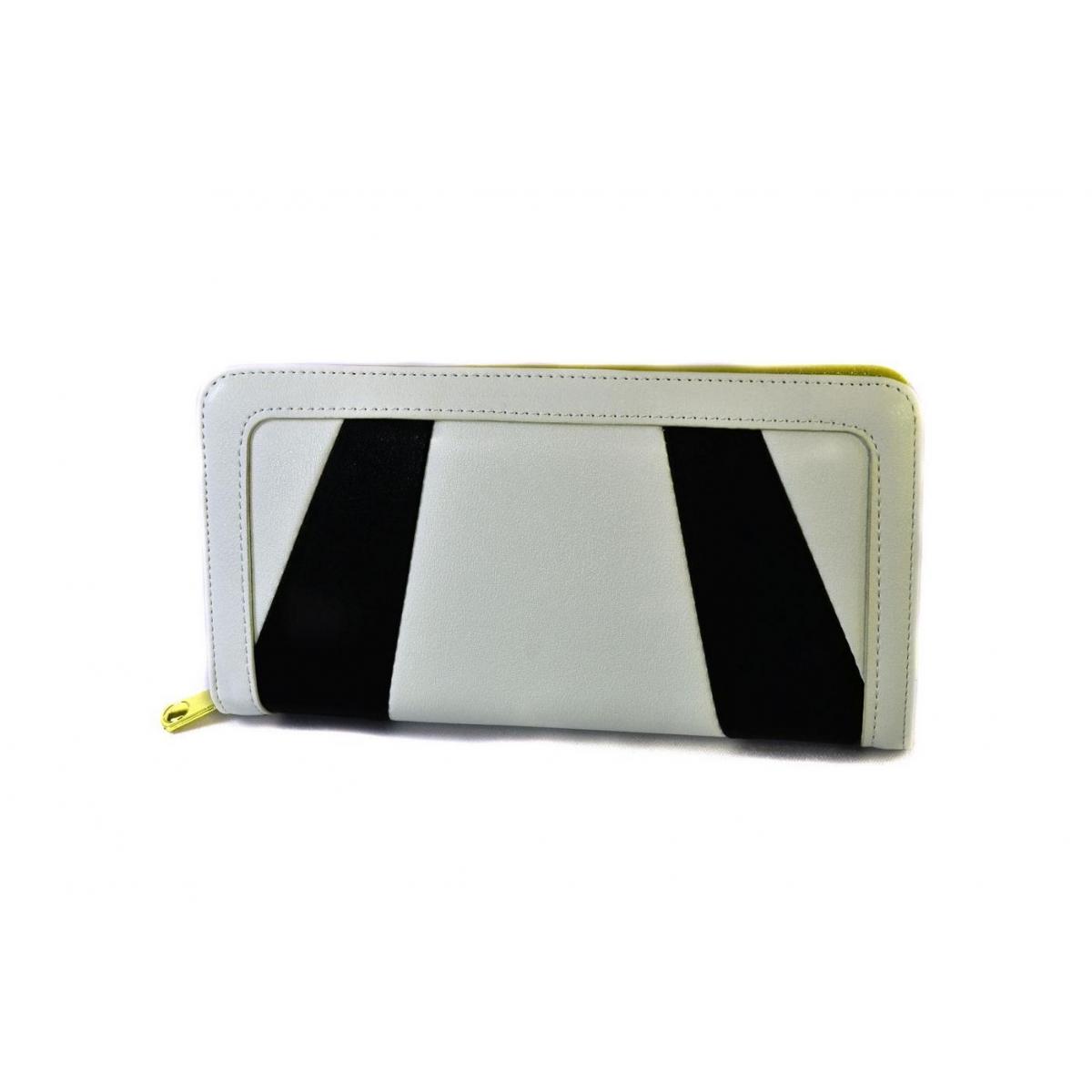 Dámska bielo-čierna peňaženka AYANA - 2 f47697a86fd