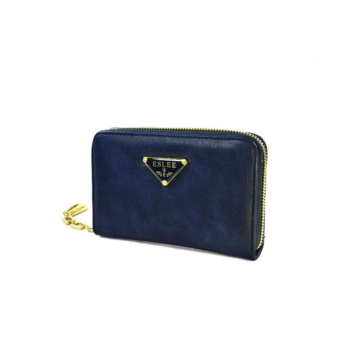 5fed0f77bdf0 Dámska tmavo-modrá peňaženka CLOE - 2