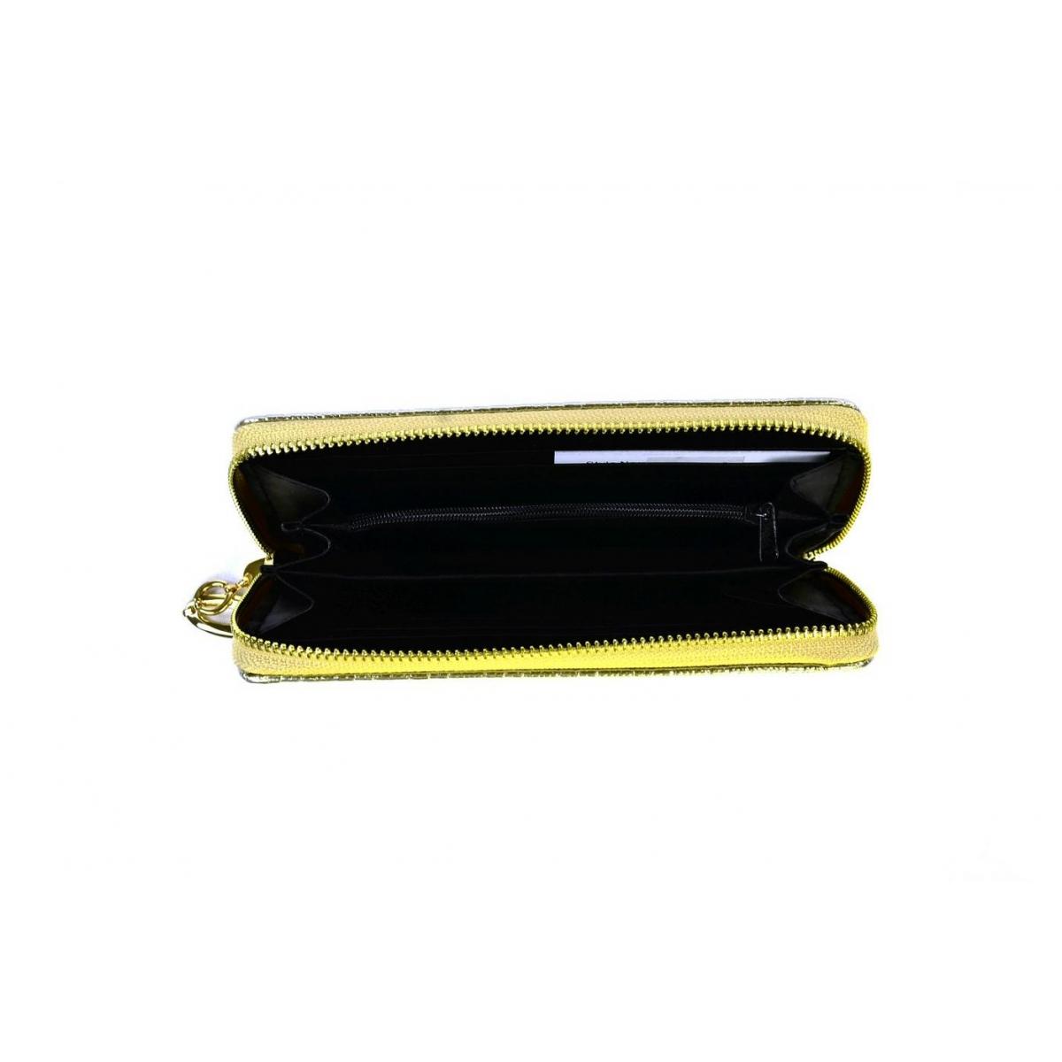Dámska zlatá peňaženka FIORENTINA - 3 6e81097dc8b