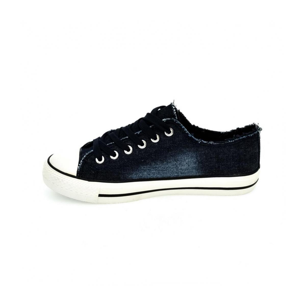 15ccaab04e Tmavo-modré šnurovacie topánky TATA - 5