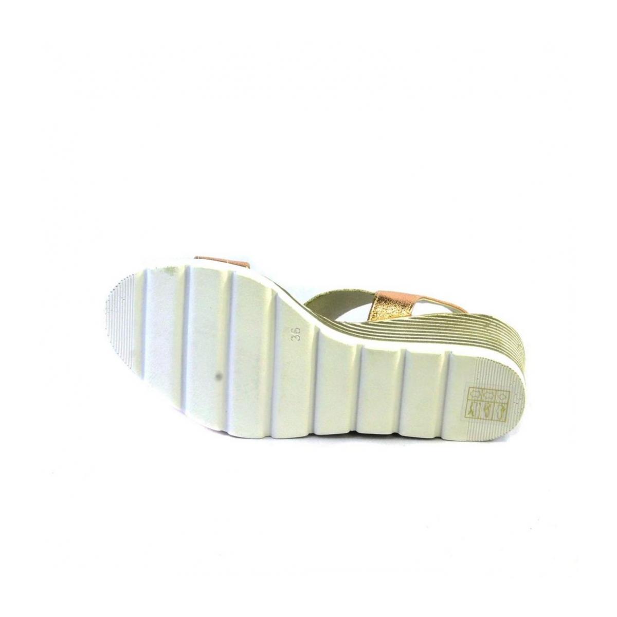 ba6c3550bc6ba Ružové kožené sandále na platforme THEA   Johnc.sk