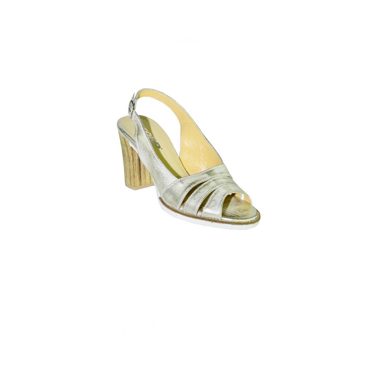 f3738f01dc62 Dámske letné zlaté sandále ARRIA - 5