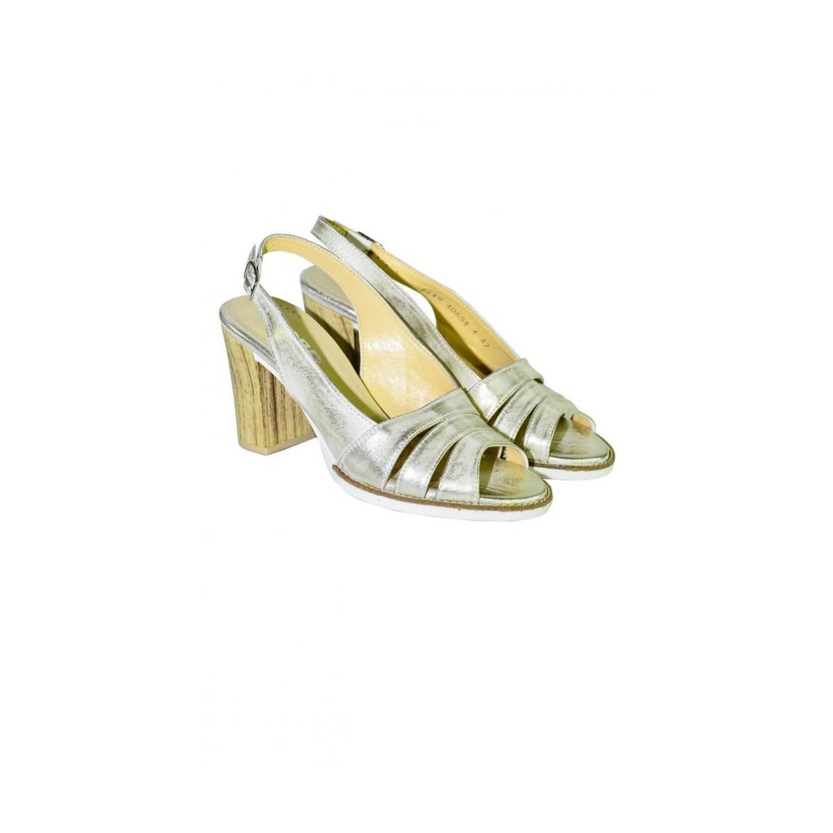 34cfeae77152 Dámske letné zlaté sandále ARRIA - 2