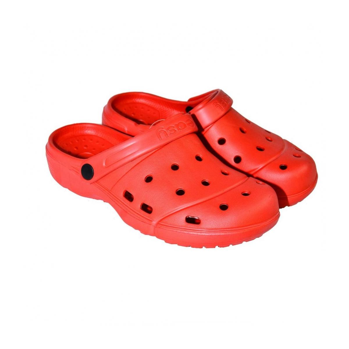 bc9987665ee75 Dámske letné červené šľapky CROCS | Johnc.sk