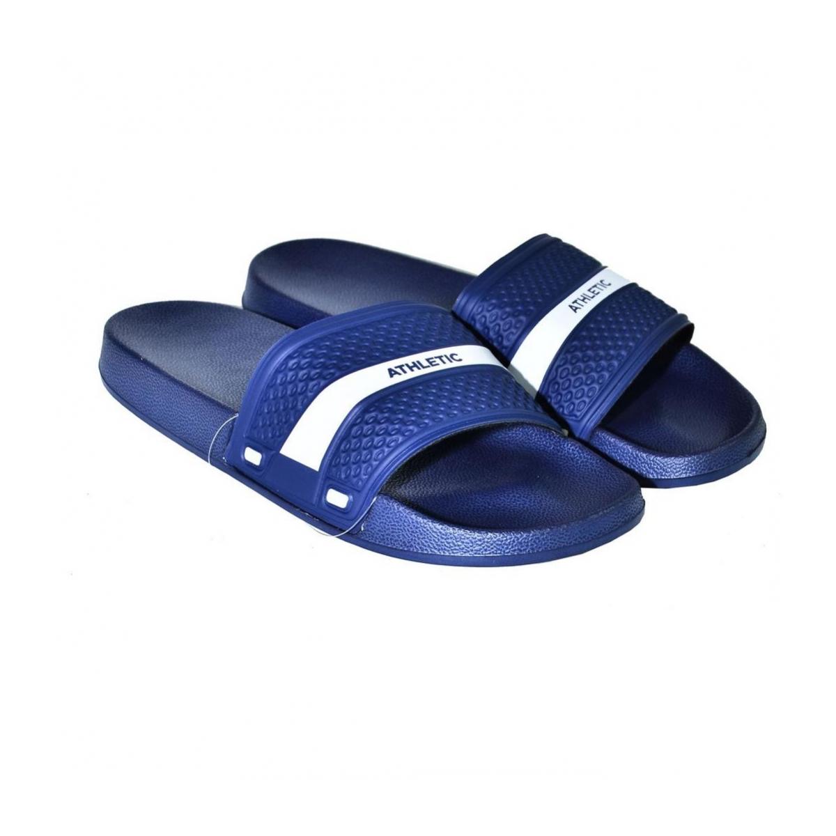 6333517db088 Pánske letné modré šľapky PROTES - 3