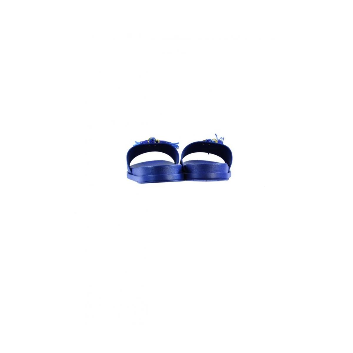 8d382e1ea956 Dámske letné modré šľapky AMINA - 6