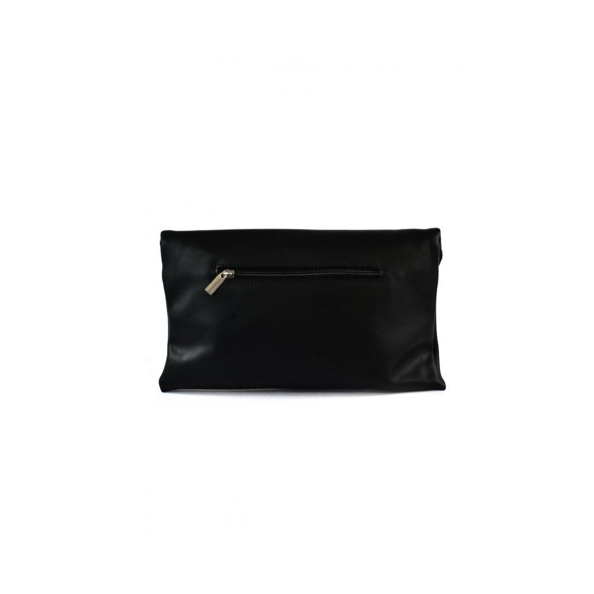 5fec268546 Dámska listová čierna kabelka LETTY - 3