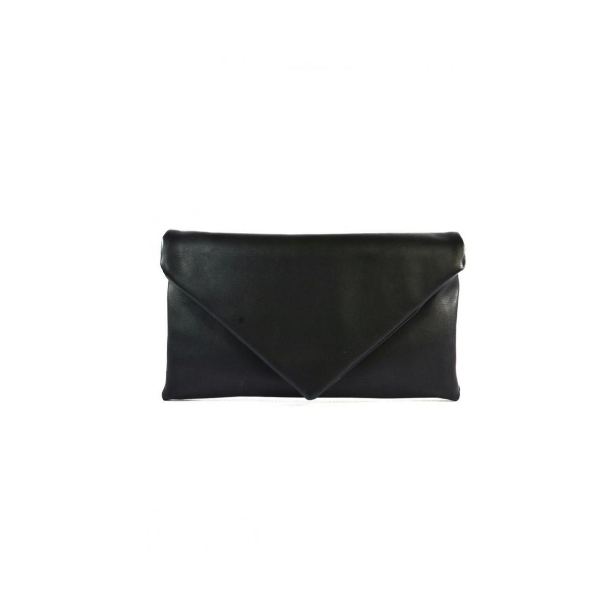 0269277be0 Dámska listová čierna kabelka LETTY - 2