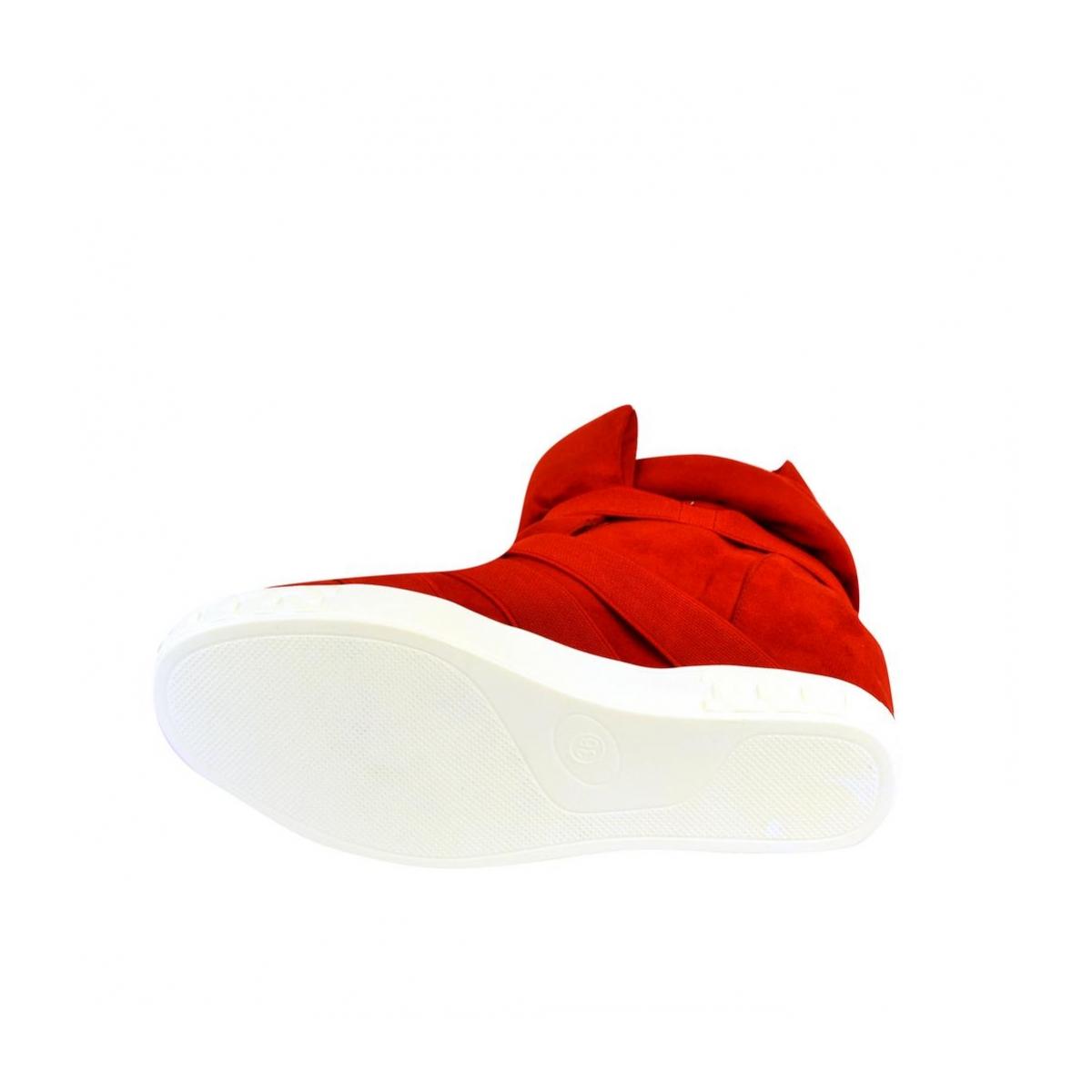 117ac54647 Dámske červené čižmy ROPE - 7