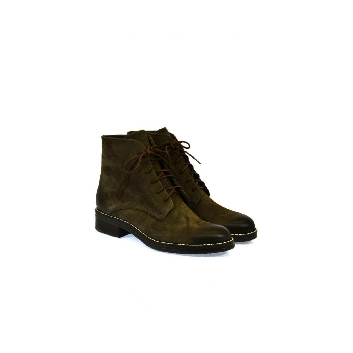 9cd2f3d4c0 Dámske hnedé členkové topánky ILINOIS - 2