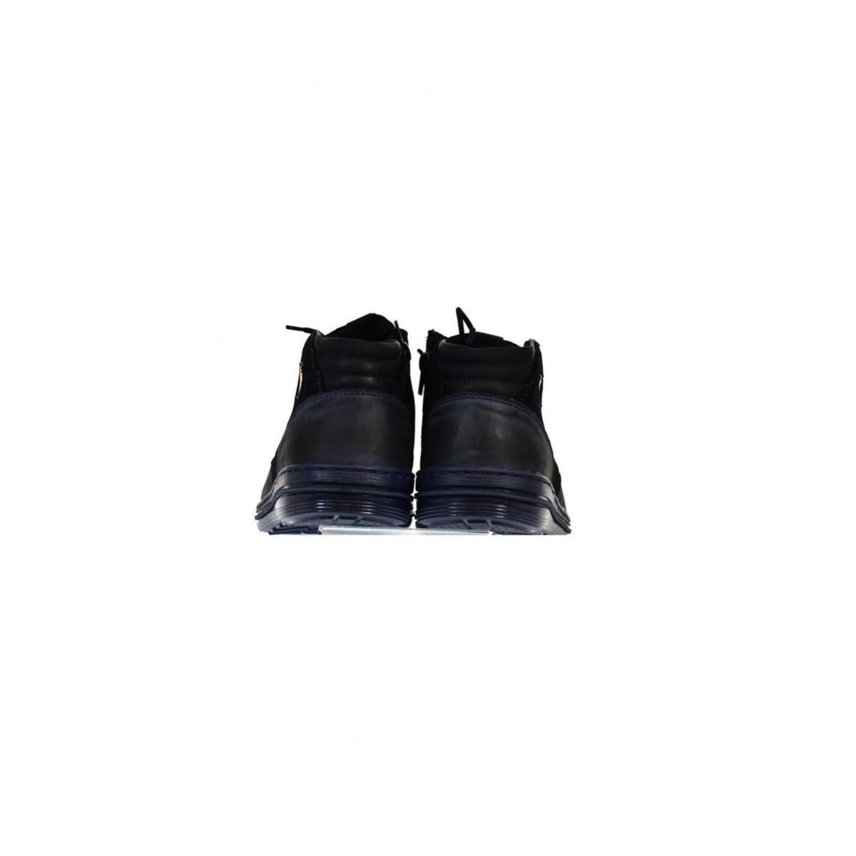 4613f49236 Pánske kožené modré zimné topánky IZIDOR - 4