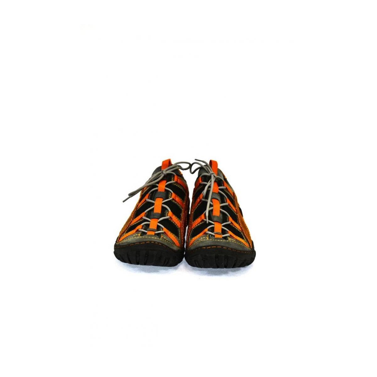 Pánske kožené sivo červené topánky VINCENZO - 4 8a70e30cb0e