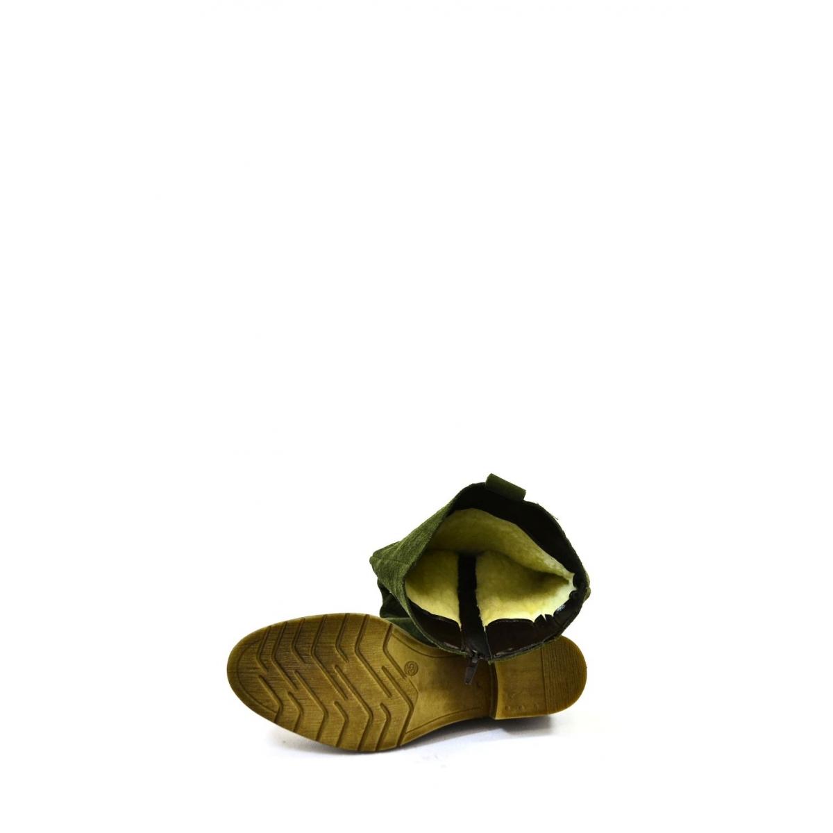 47854f324 Dámske zelené čižmy CARA | Johnc.sk