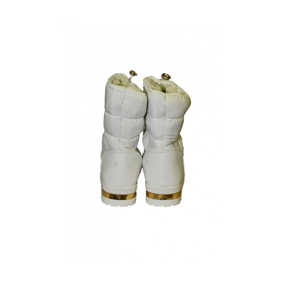 Dámske biele čižmy SARA - 4 d84a7fe214c