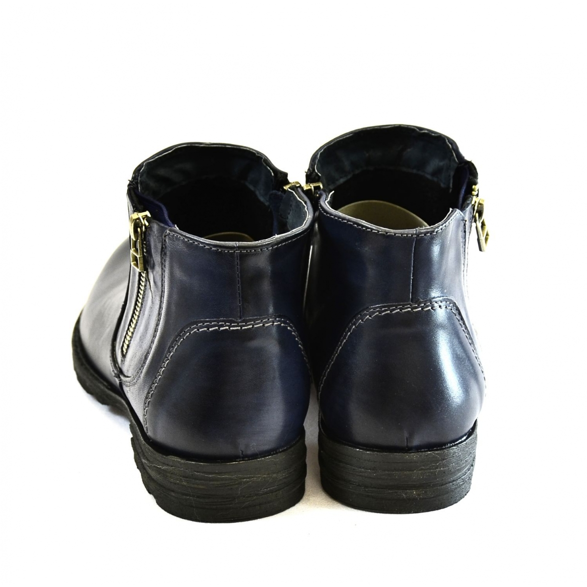 e929fcada8131 Pánske tmavo-modré zimné topánky HARRY | Johnc.sk