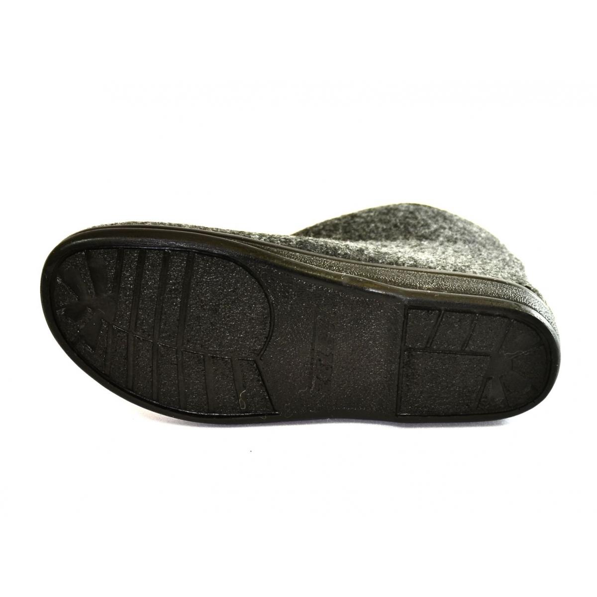 7bd62eb4ad9c Pánske sivé papuče PIXO - 4