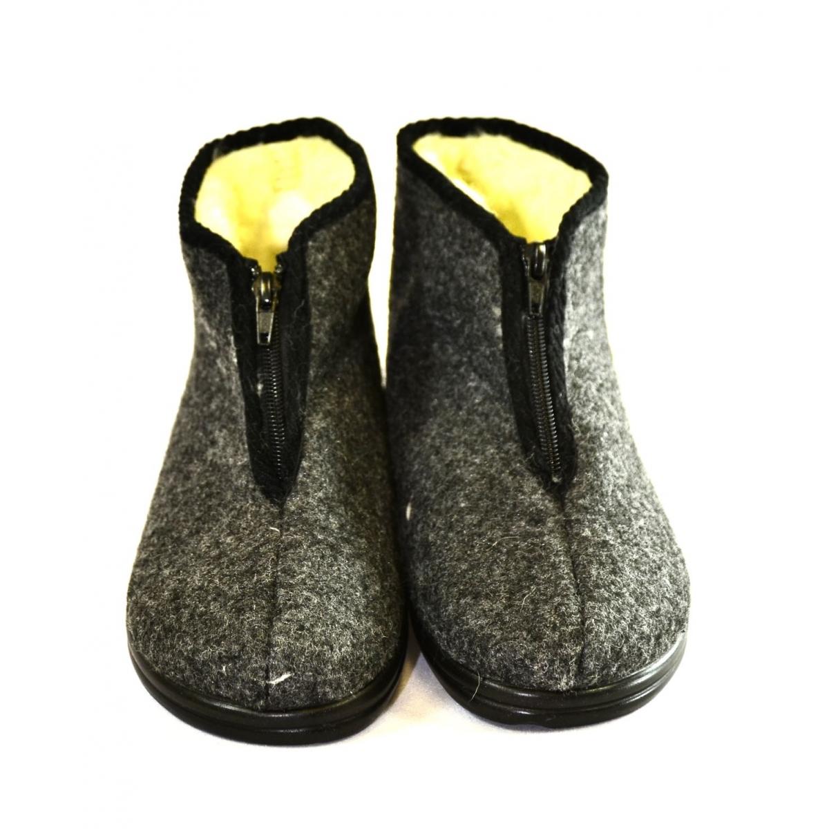 ec0aad97360fa Pánske sivé papuče PIXO | Johnc.sk