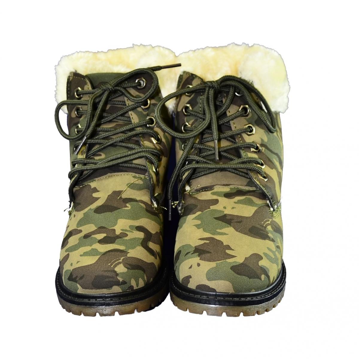 Dámske maskáčové topánky LEILA - 2 3f287b855ad
