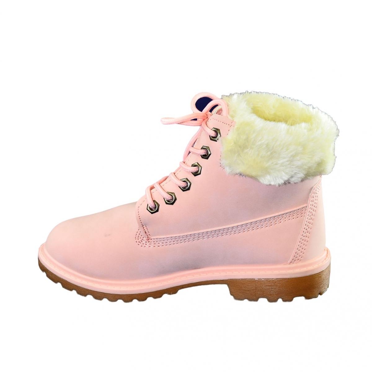 e7dc3619feed Dámske ružové topánky LEILA - 5
