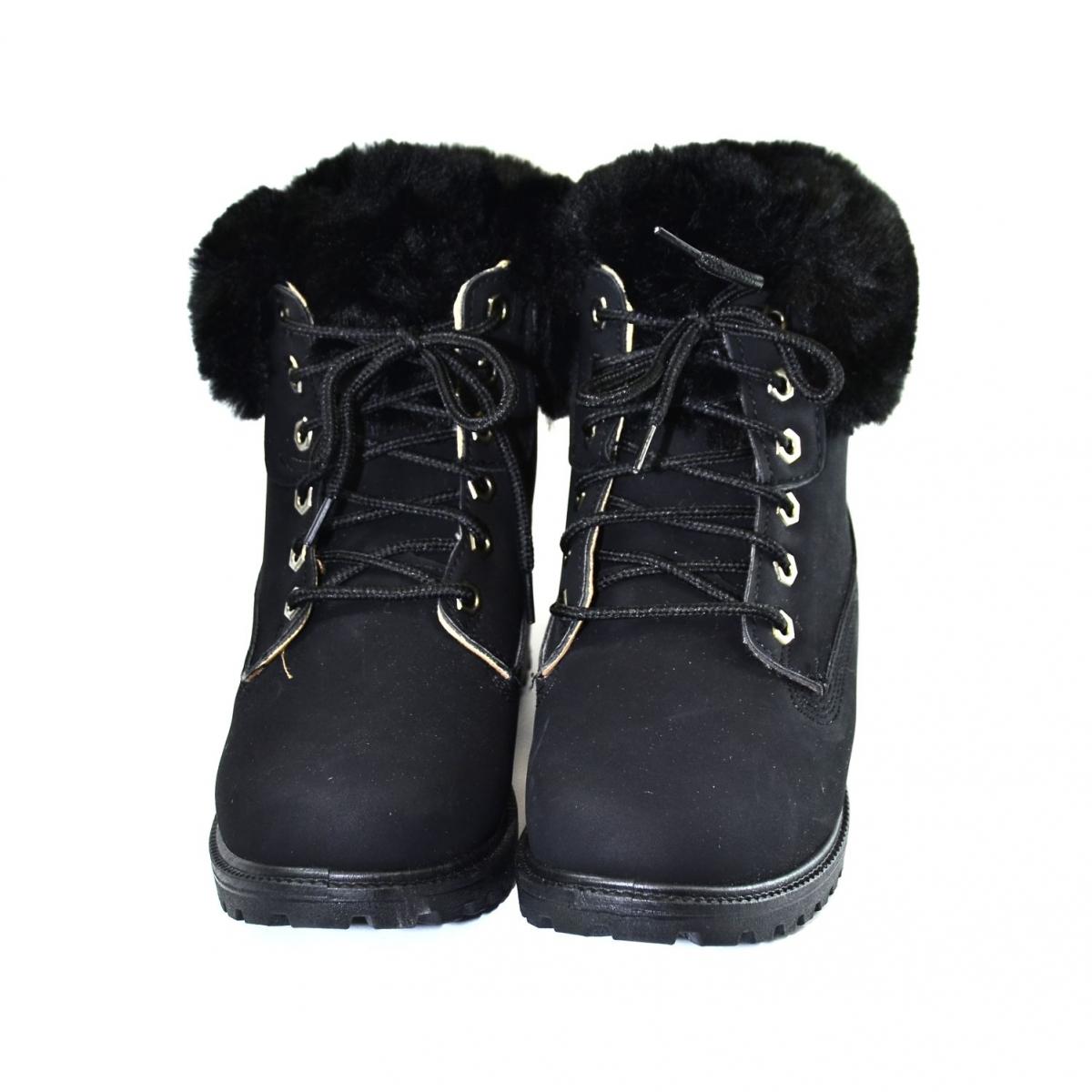 e03c962d8f73 Dámske čierne topánky STELLA - 2