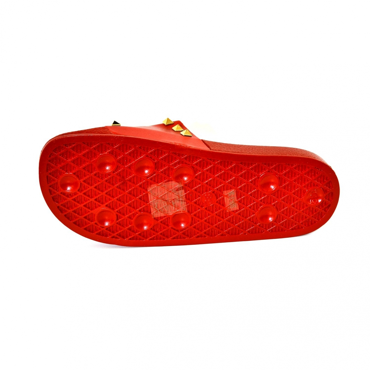 1bbde2d5bc11e Dámske červené šľapky MILOA | Johnc.sk