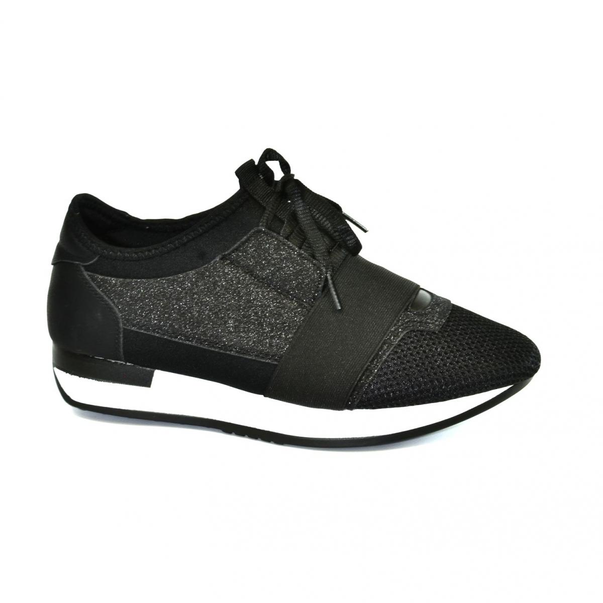 bf46d23f87f9 Dámske čierne botasky BRIEN - 5