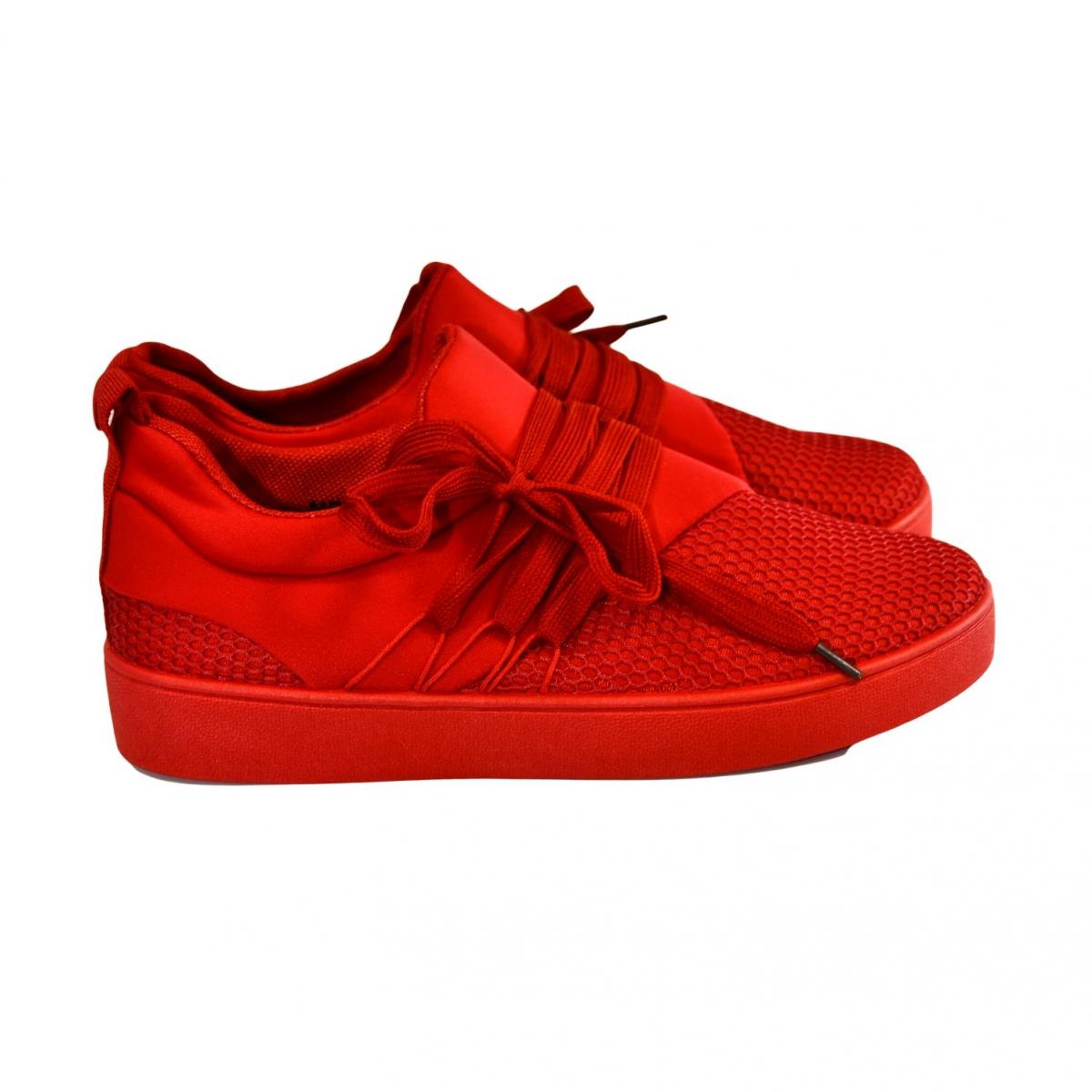 Dámske červené tenisky NABIN - 2 98822b1c6c