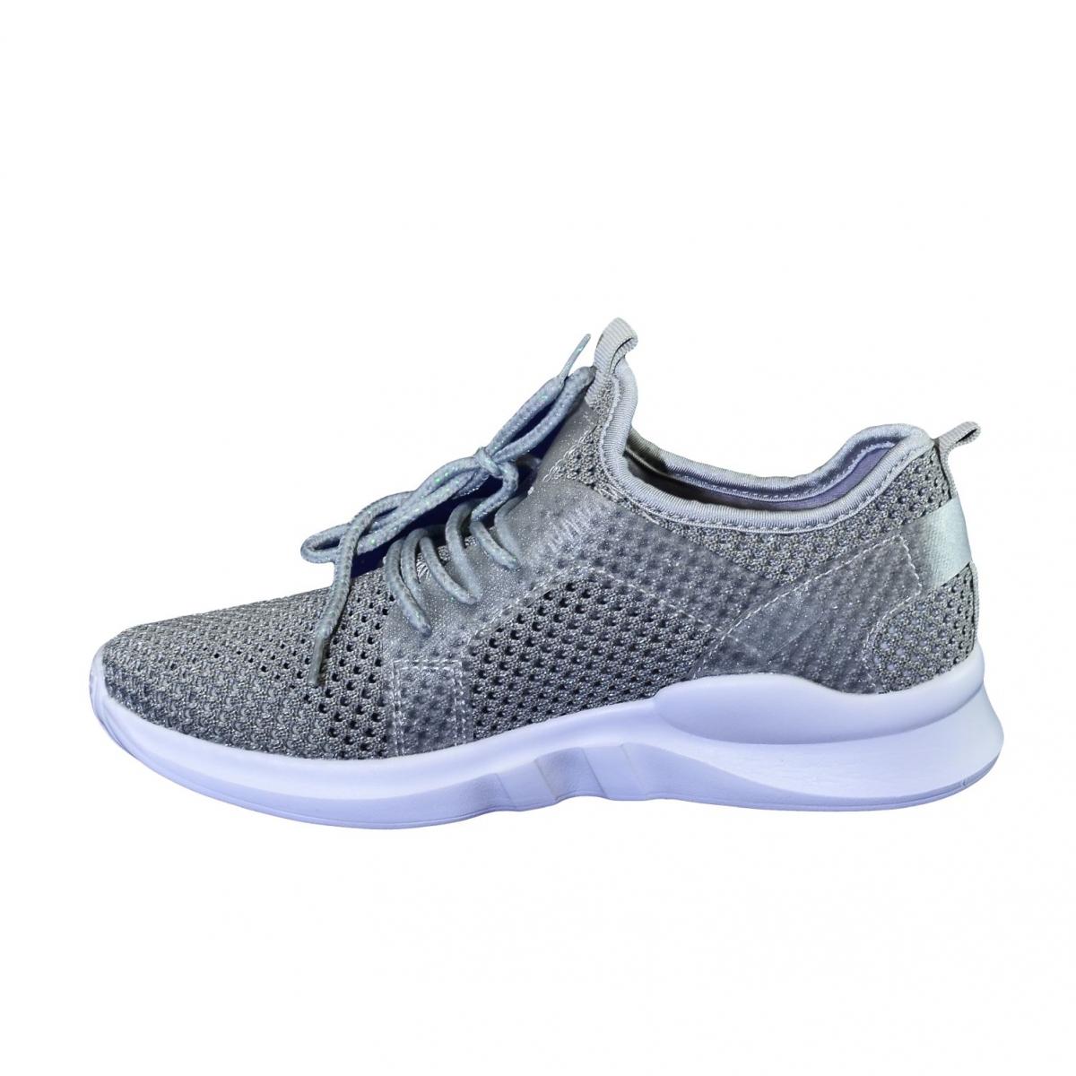 b55e2cee0c79 Dámske sivé botasky NORNA - 6