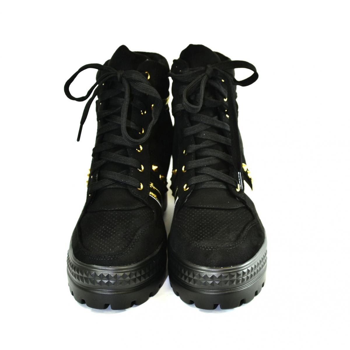 d0ea349da1ca Dámske čierne topánky VIANA - 3