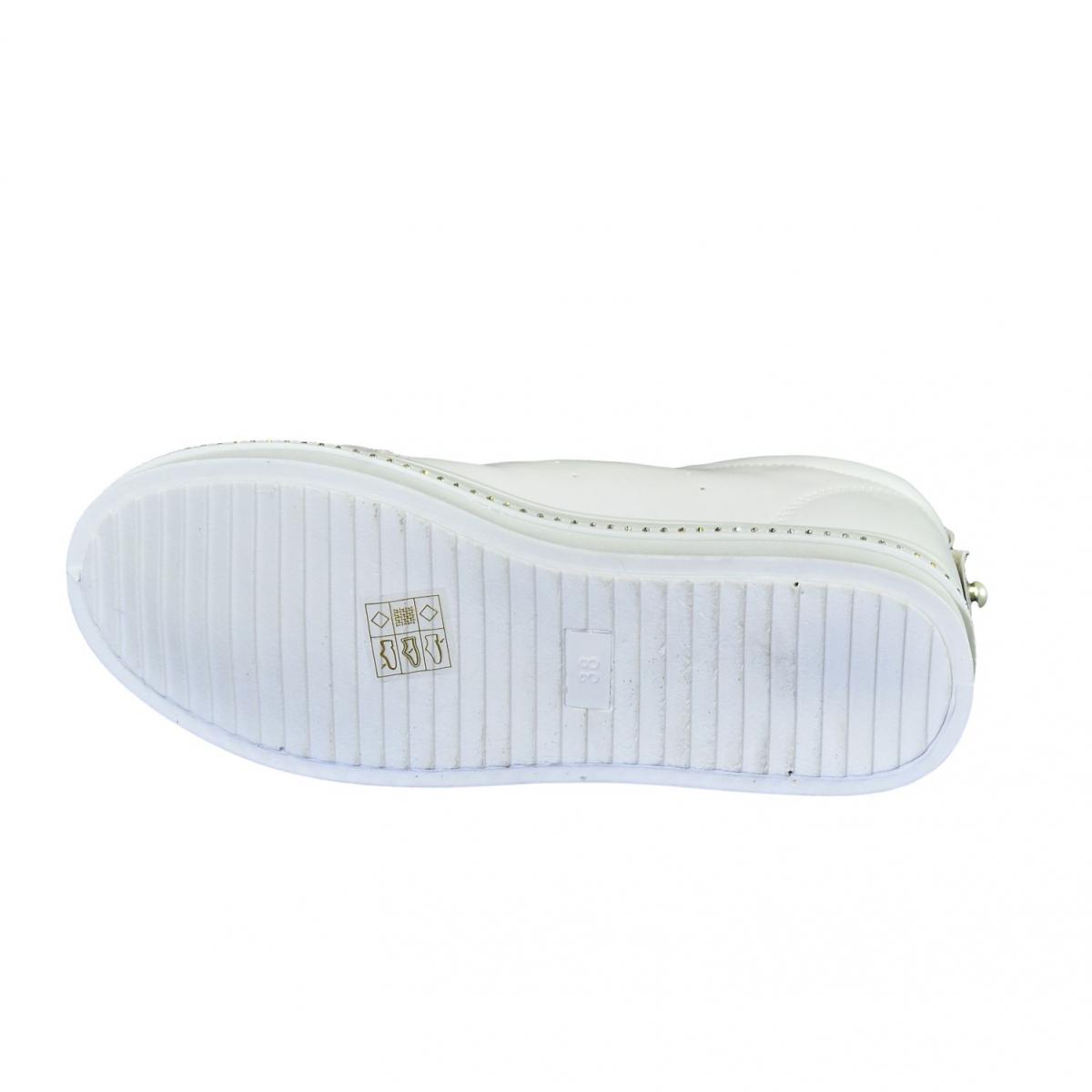 f19c412b0571 Dámske biele tenisky NIMERIA - 7